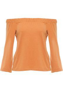 Camiseta Feminina Juju - Laranja