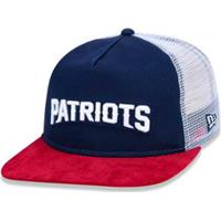 473b255243526 Boné 950 Original Fit New England Patriots Nfl Aba Reta Snapback New Era -  Masculino-