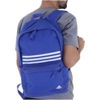 d65523a54 Centauro. Mochila Adidas Classic 3S - Azul/Branco