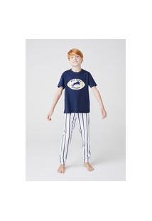 Pijama Infantil Menino Com Calça