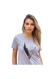 Camiseta Feminina Mirat Florest Mescla