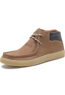 Bota Casual Over Boots Canadian Couro Nobuck - Kanui