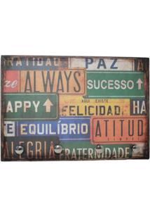 Porta Chaves Libby´S Placa Always Vintage