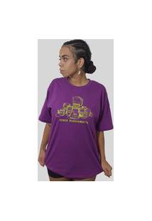 Camiseta Quimera Polpa Roxa