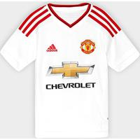 Camisa Manchester United Infantil Away 15 16 S Nº - Torcedor Adidas -  Masculino 0763ace7e2466