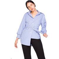 AMARO. Camisa Xadrez Vichy 8e05729d54ca8
