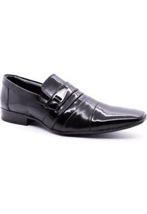 Sapato Social Masculino Verniz Parisi 60024