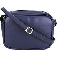 8b3f06e6b Bolsa Dergham Mini Bag Quadrada Transversal Feminina - Feminino-Marinho