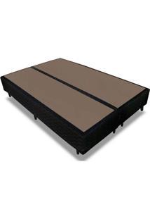 Cama Box Base Probel Tecido Black Queen 158