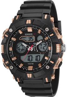 Relógio Speedo Masculino Analógico/Digital Preto 11018G0Evnp2