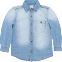 2ad3c4de54 Camisa Para Meninas Hering Jeans infantil