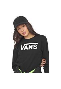 Camiseta Vans Flying V Classic Preta