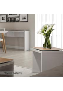 Mesa Lateral Lincoln- Off White & Natural- 51,6X44,2Provincia