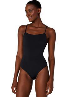 Body Fashion Jersey Decote Reto