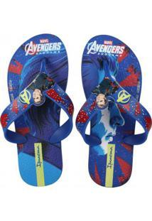 Chinelo Infantil Grendene Avengers Combat