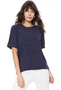 Camiseta Colcci Lisa Azul-Marinho