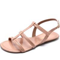 7165a15206 Dafiti. Rasteira Dafiti Shoes Tiras Rosa