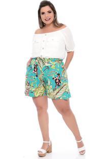 Shorts Viscose Plus Size