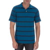 1a876f23a8 Camisaria Colombo. Camisa Polo Masculina Azul Listrada