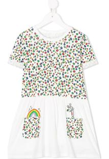 Stella Mccartney Kids Vestido Com Estampa - Branco