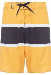 Bermuda Masculina Surf - Amarelo