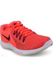 Tenis Fem Nike 908998-600 Lunar Apparent Laranja/Branco