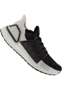 Tênis Adidas Ultraboost 19 - Feminino - Preto/Cinza Esc