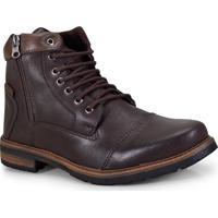 80541ad64 Bota Masc Ped Shoes 5030-B Cafe Tabaco