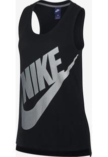 f23b6a253341b Regata Nike Sportswear Logo Future Feminina