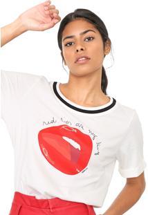 Camiseta Forum Estampada Off-White