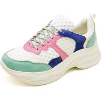 Kanui. Tênis Esportivo Gisela Costa Multicolorido 7af2eb381e91f