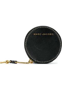 Marc Jacobs Porta-Moedas Redondo - Preto