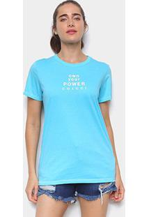 Camiseta Colcci Own Your Power Feminina - Feminino