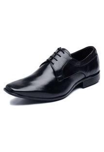 Sapato Clacle Social Couro Preto