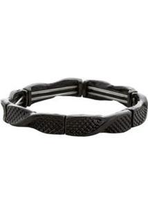 Bracelete Simples Preto - Preto