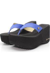 Tamanco Barth Shoes Sorvete Bicolor Feminino - Feminino-Azul