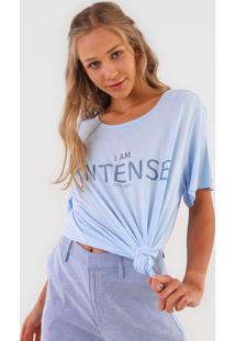 Camiseta Colcci Intense Azul