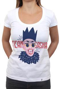 Team Sasha - Camiseta Clássica Feminina
