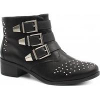 Ankle Boot Cano Curto Sintetica feminina   Shoes4you 340ee0472e