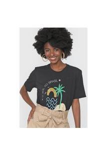 Camiseta Cantão Ilha Preta