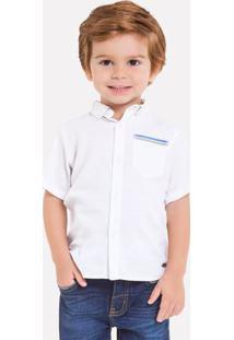 Camisa Infantil Masculina Milon Tricoline 11803.6826.8