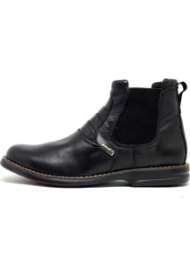 Botina Confort Sayle Amarok- Confort Preto Sayle Footwear