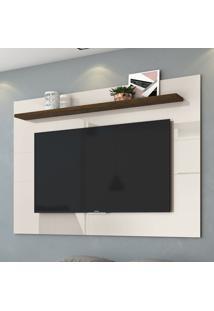 Painel Para Tv Lorenzo 160 Cm 459122 Off White/Savana - Madetec