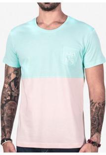 Camiseta Meio A Meio Hrms 102433