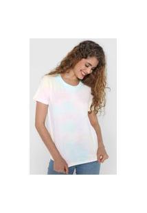 Camiseta Gap Tie-Dye Rosa/Amarela