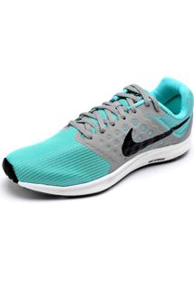 Tênis Nike Wmns Downshifter 7 Verde/Cinza