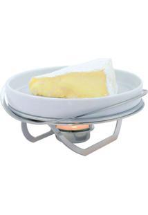 Rechaud Brie Linea Grande Inox Riva