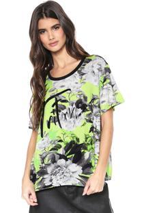 Camiseta Triton Tropical Verde