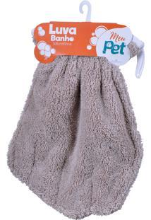 Luva Microfibra Para Banho Pet Kit Com 04 Un - Meu Pet