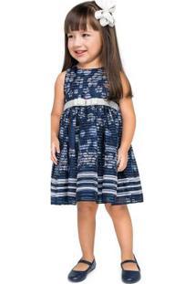 Vestido Marisol Azul